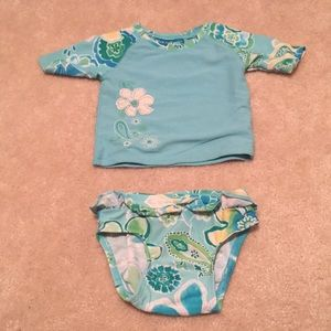 Old Navy 12-18 month rash guard bathing suit